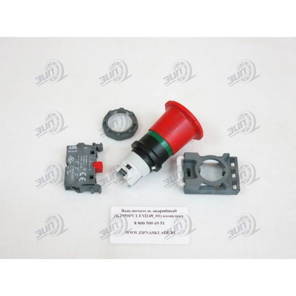Выключатель аварийный комплект (K2950PULEM248_01)