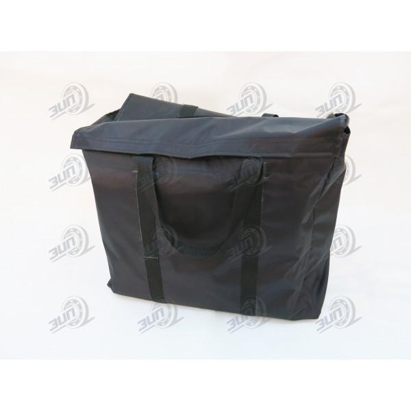 Мешок для переноски белья черный